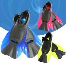 New Popular Scuba Diving Swimming Short Fins Snorkeling Flippers Full Foot Shoes