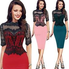 Women Mini Dress Party Evening See Through Dress Club Wear Cocktail Peplum Dress