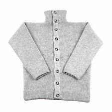 100% Wool Dachstein Woolwear Thick Boiled Wool Cardigan Sweater from Austria