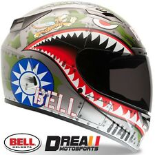 BELL VORTEX FLYING TIGER FLAT BLACK FULL FACE MOTORCYCLE HELMET DOT SNELL XS-XXL