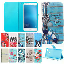 Magnetic PU leather wallet flip stand Cover Skin Case for Huawei P8 P9 Lite Y625
