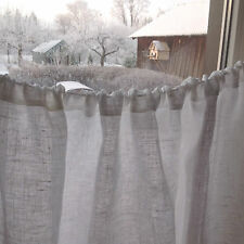 CAFE CURTAINS / LINEN CAFE CURTAINS