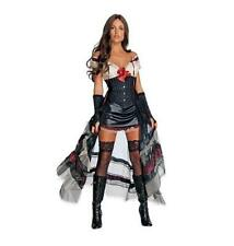 NEW Jonah Hex Secret Wishes Lilah Costume, Mini Dress w/ Bustle,Style Back Piece