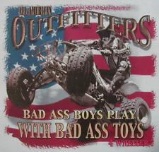 ALL AMERICAN OUTFITTERS BADA$$ BOYS HAVE BADA$$ TOYS 4 WHEELERS SHIRT #348