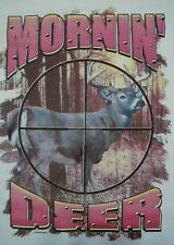 ALL AMERICAN OUTFITTERS MORNING DEER HUNTER BUCK HUNTING SHIRT #428