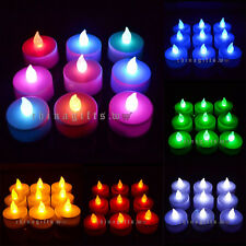 Flickering LED Flameless Tea Light Candle Wedding Birthday Party Home Decor