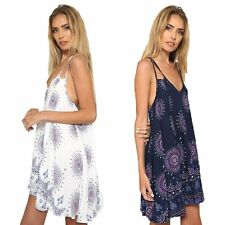 New Women Summer Sexy Backless Dress Floral Beach Party Evening Dresses Sundress