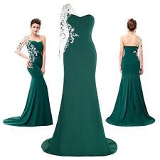 WOMEN Long Prom Bridesmaid Dress Ball Party Cocktail Formal Evening Gown Mermaid