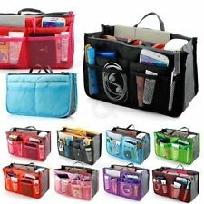 Lady Women Insert Handbag Organiser Purse liner Organizer Bag Tidy Travel HA