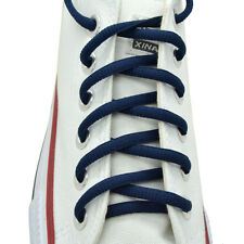 "Oval Sneakers Shoelaces ""Navy Blue"" 36"",45"" Athletic Shoelaces 1,2,4,6.12 Pairs"