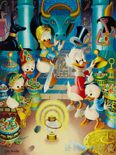 Oil Painting HD Print Wall Decor Art on Canvas,Donald Duck-17 (Unframed) 1PCS