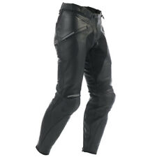 Dainese Alien Leather Motorcycle Trousers - Black