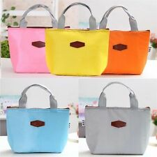 Portable Thermal Insulated Cooler Lunch Box Travel Picnic Carry Tote Bag HA