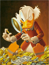 Oil Painting HD Print Wall Decor Art on Canvas,Donald Duck-93 (Unframed) 1PCS