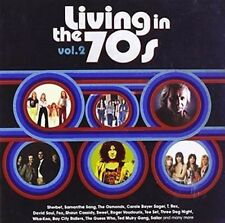 Vol. 2-living in the 70s - V/A New & Sealed CD-JEWEL CASE Free Shipping