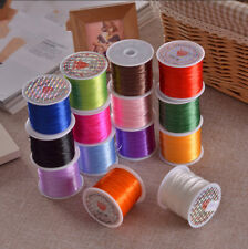 Nylon Beading Colorful Crystal Line Stretch Elastic Beading Cord Wire Jewelry