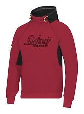 Snickers 2815 Logo Hoodie Snickers Hoodie Snickers Direct Red