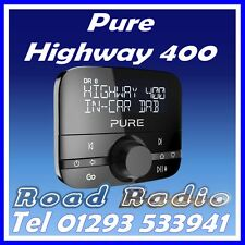 Pure Highway 400 Car Audio Adapter DAB Digital Radio & Bluetooth Music Streaming