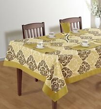 New Tablecloth Luxury Catering Wedding Table Cover Cloth 100% Cotton Tableware