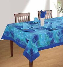 Floral Rectangular Square Tablecloth Table Decor Cover Runner Linen Tableware