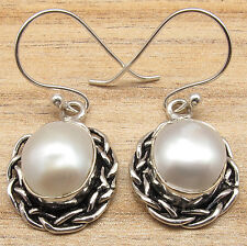 925 Silver Plated FRESH WATER PEARL & More Stone Variation Earrings