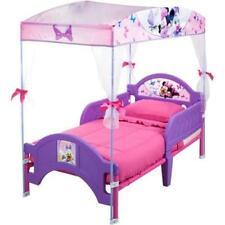 New Toddler Bed with Canopy Disney Minnie Mouse Kids Girls Bedroom Set