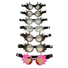 NEW Vintage Victorian Steampunk Spike GODDLES Glasses Welding Cyber Goth Cosplay