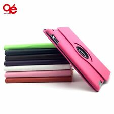Rotating Swivel PU Leather Stand Smart Case Cover for iPad 2 3 4 Air 1 2 mini