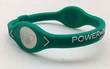 Power Balance - GREEN with WHITE Writing, Bracelet Band  - Wristband - NEW