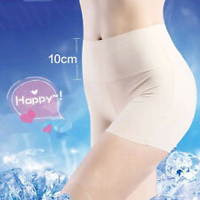 Women Ice Silk Seamless Safety Comfortable Pant Tight Legging Underwear Knicker
