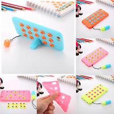New 3D Cute Stand Creative Soft Silicone Case Cover For Apple iPhone 6 6S Plus