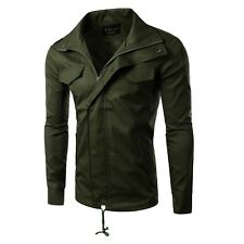 NEW Military Men's Stylish Slim Fit Fashion Casual Jackets Outerwear Coat Tops