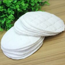12pcs Bamboo Reusable Breast Pads Nursing Waterproof Organic Plain Washable Pad