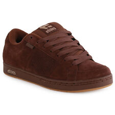 Etnies Kingpin Suede Mens Trainers Brown New Shoes