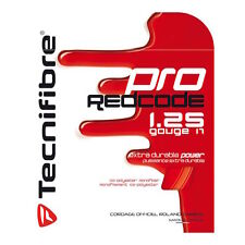 Tecnifibre Pro Red Code - Tennis String Red 12m - Retail - Free UK P&P