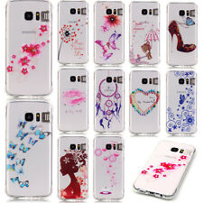 LED Flash Incoming Call Reminder Phone Case for Samsung iPhone Soft TPU Cover