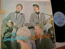 RARE 1960 vinyl LP THE EVERLY BROTHERS INSTANT PARTY! Warner WM4061 excellent