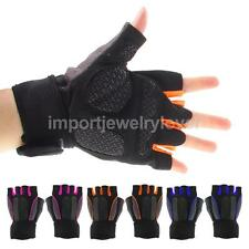 Breathable Cycling Bike Bicycle Microfiber Gel Sports Half Finger Gloves M/L/XL