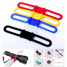 2x Bike Bicycle Phone Torch Light Pump iPod Water Bottle Holder Strap Bands Cool