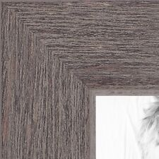 ArtToFrames 1.25 Inch Gray Rustic Wood Picture Poster Frame ATF-77900