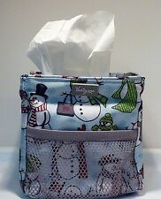 Thirty One 31 Gifts Littles Carry All Caddy SNOW DAZE Snowmen Excellent cond.