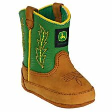 New John Deere JD0186 Baby's Green Crib Wellington Boots