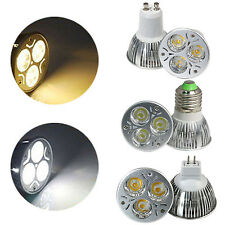 CREE/COB/Epistar GU10 MR16 E27 15W/12W/9W/7W/5W/3W LED Light Lamp Spotlight
