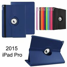 360° degree Rotating Leather Case Cover Protector Skin Pouch For Apple iPad Pro