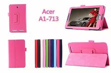 PU Leather Stand Case Cover Protector Skin For Acer Iconia Tab 7 A1-713 A1-713HD