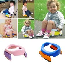 Kids  Home Travel Potty Chair Seat and 10 PP Bags Potty Training
