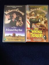 Wallace And Gromit The Wrong Trousers & A Grand Day Out VHS