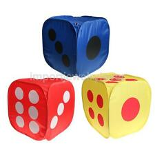 New Portable Dice Shaped Children Pop-Up Play Tent Indoor Outdoor Play House