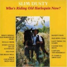 Who's Riding Old Harlequin Now? - Dusty,Slim New & Sealed CD-JEWEL CASE Free Shi