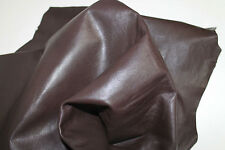 Lambskin leather hide skin hides 100% Genuine Leather Brown 5 Sq Ft !!03